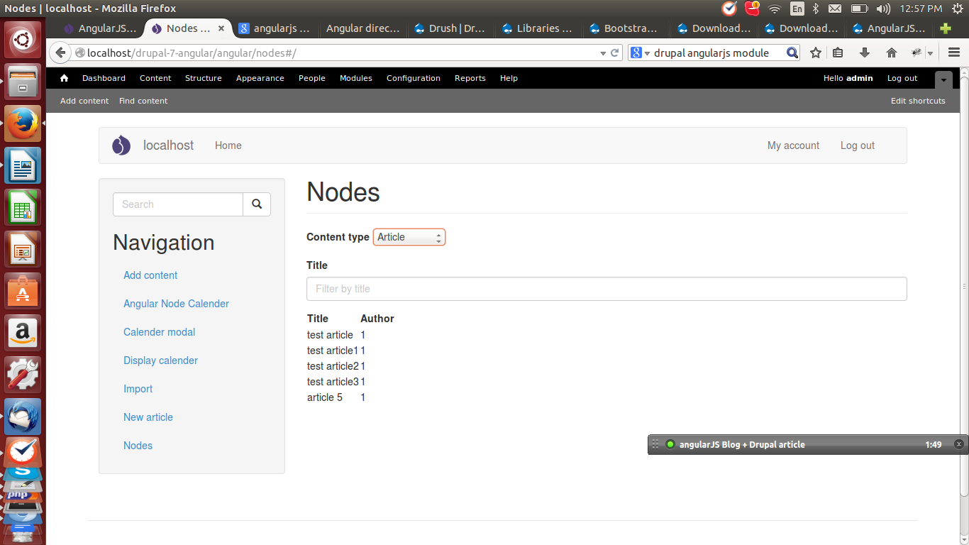 Configuring Drupal To Enable Integration With AngularJS