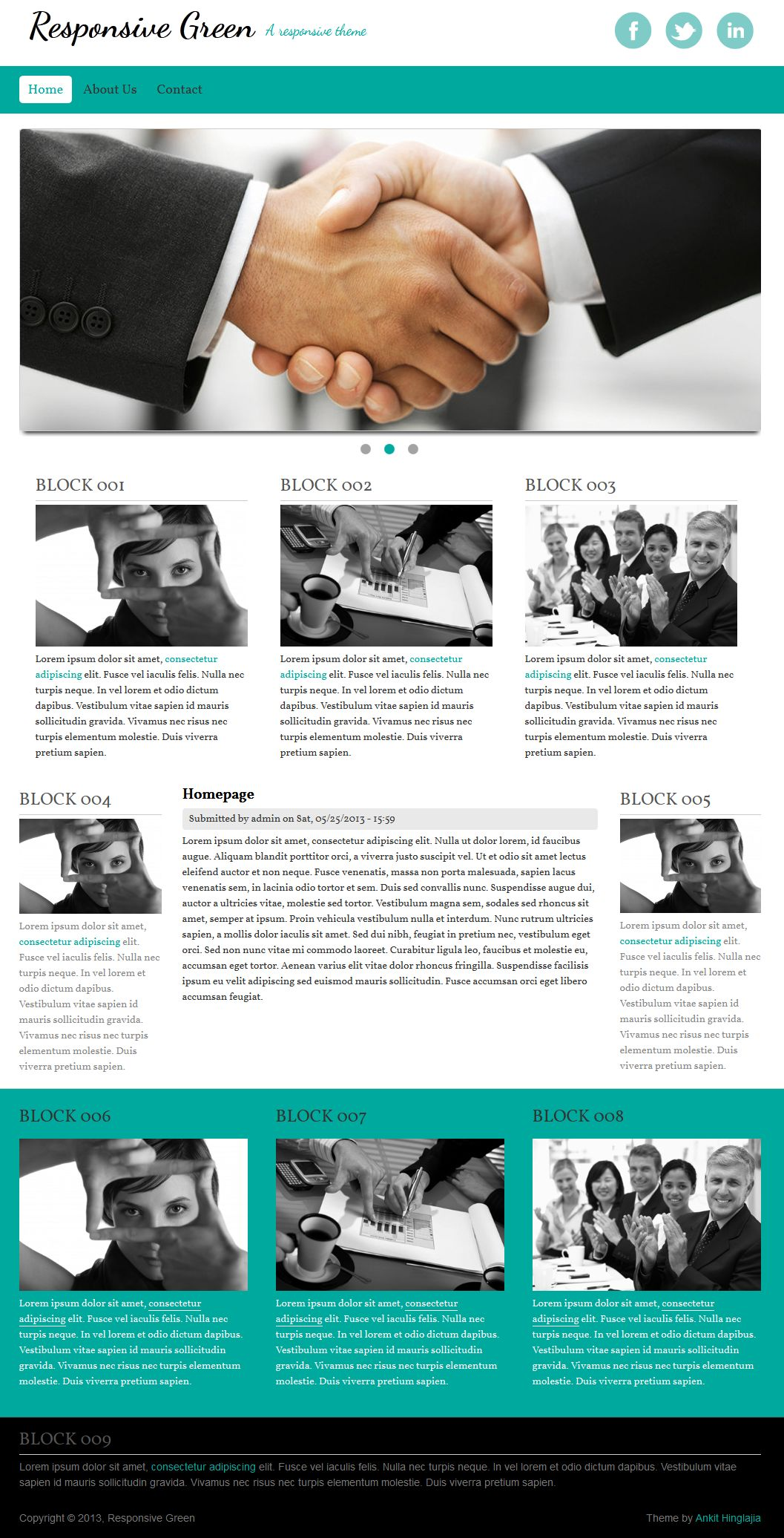 Responsive Theme for Drupal