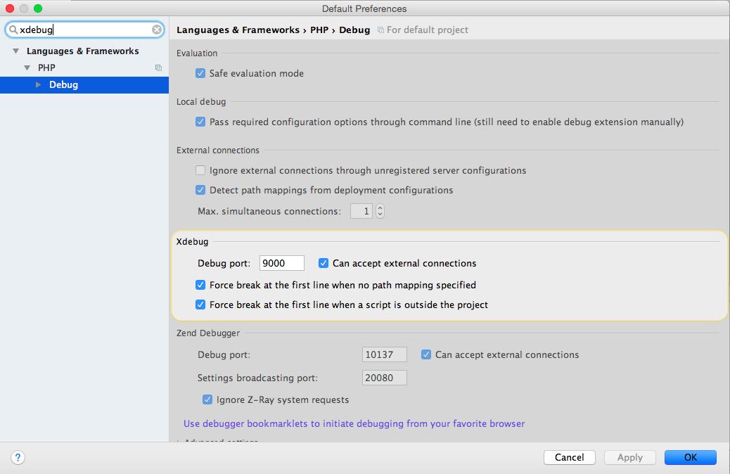 Configure PHPStorm to debug Drupal 8   Red crackle