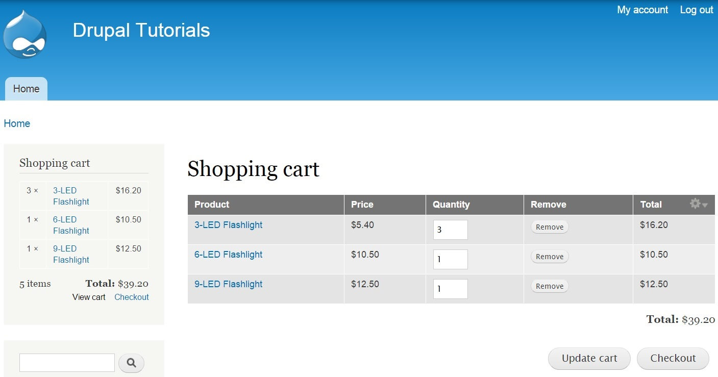 To get started you will have to download unzip and enable a contributed module known as commerce cart ajax this module ensures that the shopping cart
