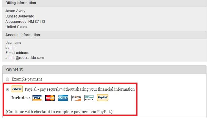 Deposit Via Paypal